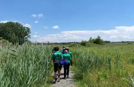 Green Team Visits Fish & Wildlife